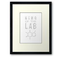 King of the LAB Framed Print
