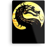 Mortal Kombat Dragon Metal Print