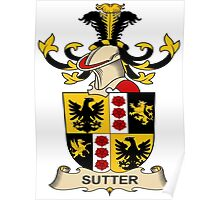 Sutter Coat of Arms (Austrian) Poster