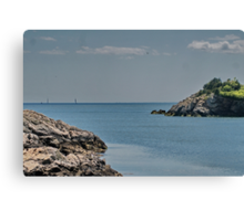 Looking Seaward Canvas Print