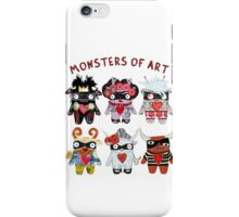 Monsters of Art iPhone Case/Skin