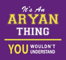 It's An ARYAN thing, you wouldn't understand !! by satro