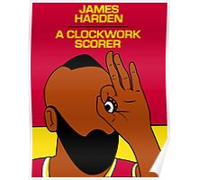 James Harden (A Clockwork Scorer) Poster