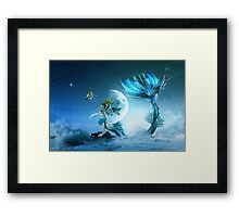 How to Catch a Mermaid Framed Print