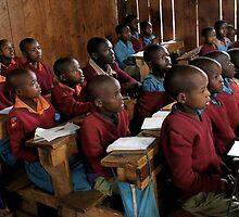 Kenyan Schoolroom  by rachelstone