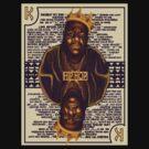 Hip Hop King -- Biggie by rubynibur
