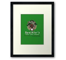 Spackler's Lawn Pest and Greens Framed Print