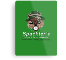 Spackler's Lawn Pest and Greens Metal Print