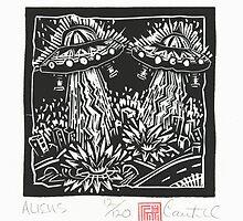 Disaster Series, Aliens by daniel cautrell