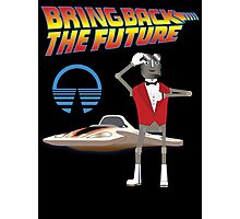 Bring Back the Future Horizons Robot Butler Photographic Print