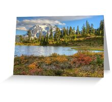 Mt. Shuksan in the Fall (HDR) Greeting Card