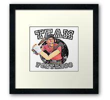 Team Fortress 2 Scout College Sports Design Framed Print