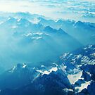 Birds View on the Alps (Velvia) by vivendulies