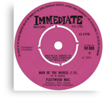 Man of the World - Immediate Records Canvas Print