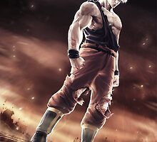 Super Saiyan Goku 3d by BubbaDesigns