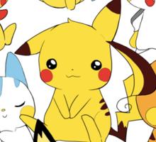 Electric rodent pokemons! Sticker