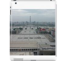 Kim Il-Sung Square, Pyongyang, North Korea iPad Case/Skin