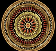 Mandala of friendship by MartinCapek