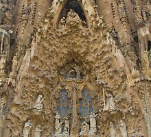 Sagrada Familia Carvings by Dylan Paterson