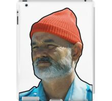 Bill Murray as Steve Sizzou  iPad Case/Skin