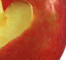 I Love Apples Sticker