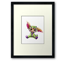 Dino Gnar Framed Print