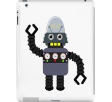Funny robot iPad Case/Skin