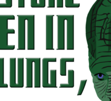 I can store oxygen in my lungs, share with me Sticker