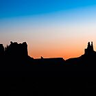 Monument Valley at Dusk by Gary Gray
