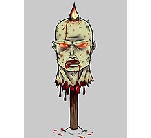 Zombie on-a-stick Photographic Print