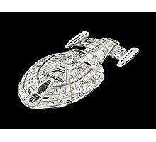 USS Star Trek Voyager Photographic Print