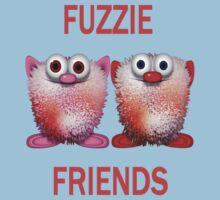Fuzzie Friends .. Tee Shirts Kids Clothes