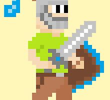 Pixel Knight! by Joels-Swag