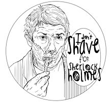 Shave for Sherlock (Lineart) by ieindigoeast