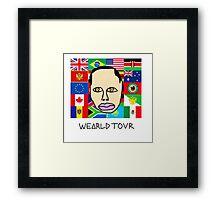 Earl Sweatshirt - Wearld Tour  Framed Print