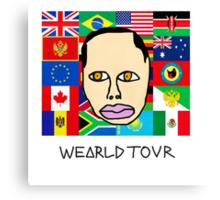 Earl Sweatshirt - Wearld Tour  Canvas Print
