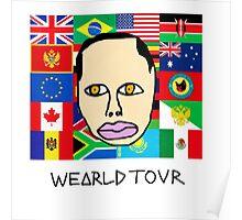Earl Sweatshirt - Wearld Tour  Poster