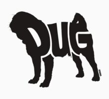Pug Black Kids Clothes