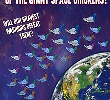 Attack Of The Space Chickens! by ItsSabYo