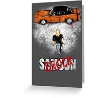 Samson Greeting Card