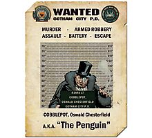Penguin - Gotham's Most Wanted Photographic Print