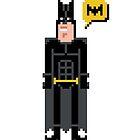 Pixel Batman by Sergei Vozika