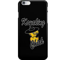 Kayaking Chick #4 iPhone Case/Skin