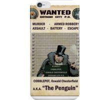 Penguin - Gotham's Most Wanted iPhone Case/Skin