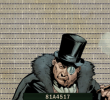 Penguin - Gotham's Most Wanted Sticker