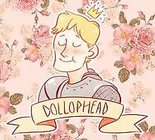 Dollophead by taryndraws