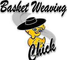 Basket Weaving Chick #4 by CulturalView