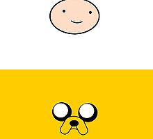 Jake The Dog & Finn The Human by Liam Kelly