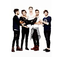 One Direction Photographic Print