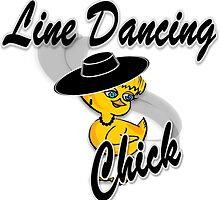 Line Dancing Chick #4 by CulturalView